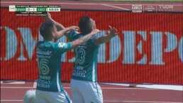 ¡Golazo de León! Ángel Mena define perfecto para el 0-1 en C.U.