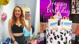 Así celebraron a Daniela Magun en el foro de 'Netas Divinas' por su cumpleaños