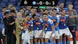 ¡Chucky campeón! Napoli vence a Juventus y conquista la Copa Italia