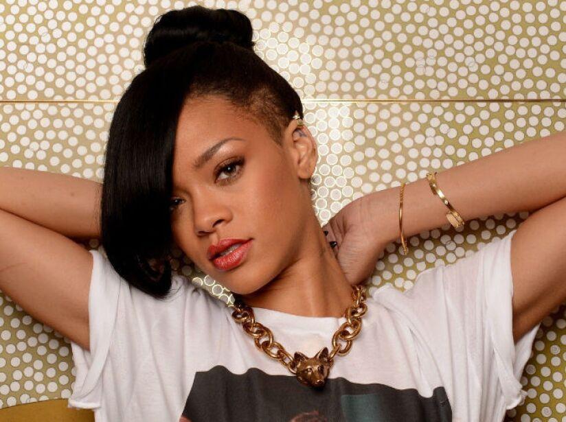 10. Rihanna: Sus canciones están presentes en dos de los juegos más importantes del 2013: Battlefield 4 y GTA V.