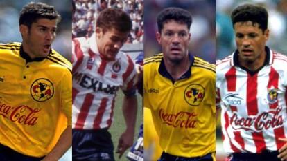 De los más de cincuenta futbolistas que defendieron ambas casacas, estos fueron los más destacados.