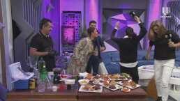 Niurka les escupe a Yolanda Andrade y Montserrat Oliver, antes de salir molesta del set de 'Montse y Joe'