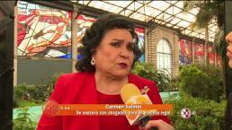 Carmen Salinas demandará a las hermanas Vallejo