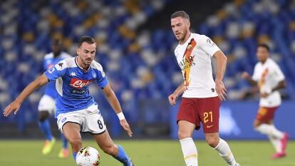 Con un golazo de Lorenzo Insigne al minuto 82, el Napoli vuelve a ganar y continúa sin ver la derrota desde que se reanudó el futbol en Italia.