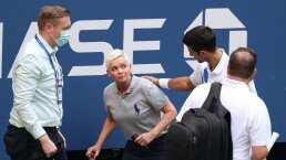 Djokovic golpea a jueza y es descalificado del US Open