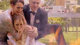 ¡Maribel quema su vestido de novia!