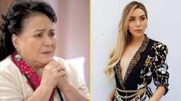 """Al borde de las lágrimas, Carmen Salinas le brinda amor de madre a Frida Sofía: """"Déjame darte todo ese cariño"""""""