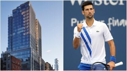 Los lujosos apartamentos de Novak Djokovic en Nueva York