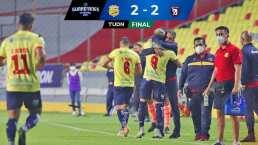 ¡Apagón en Morelia! Ganaba 2-0 y Tepatitlán le empata 2-2