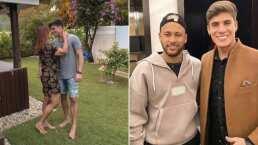 Neymar desconfía del novio de su mamá después de discusión