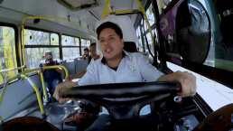 Hugo Alcántara fue microbusero y manejó como si fuera juego de feria