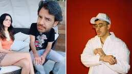 Las divertidas reacciones de Aislinn y Eugenio Derbez al escuchar 'Safaera' de Bad Bunny