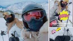 Geraldine Bazán se encontró a Camila Sodi mientras esquiaba y terminó atropellándola