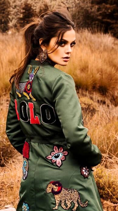Marisol González presume su estilo al vestir