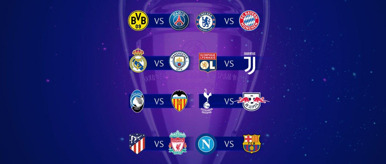 Resultado de imagen para octavos champions league 2019/20