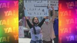 Lasrápidasde Cuéntamelo ya!(Miércoles 10 de junio): Eiza González participa en marchas contra el racismo