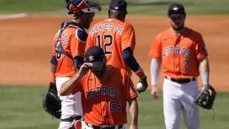 Mala tarde para José Urquidy en la derrota de los Astros