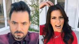 José Eduardo Derbez y Alessandra Rosaldo protagonizan divertido tiktok imitando a 'La India Yuridia'