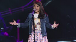 Irenka Moro impactó a los coaches en La Voz Kids