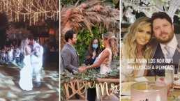 Entre luces y mucho amor, así se vivió la boda entre Karla Díaz y Daniel Dayz