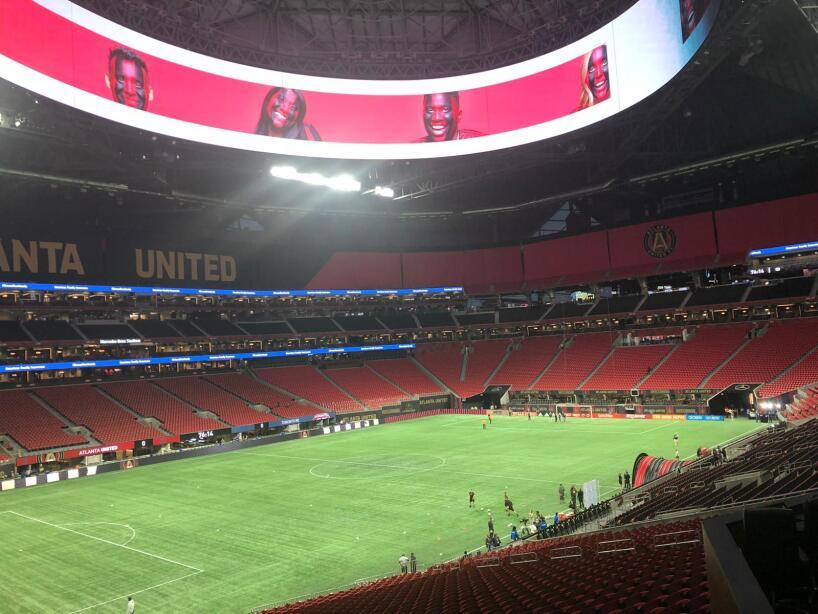 El color del Atlanta United vs Toronto FC
