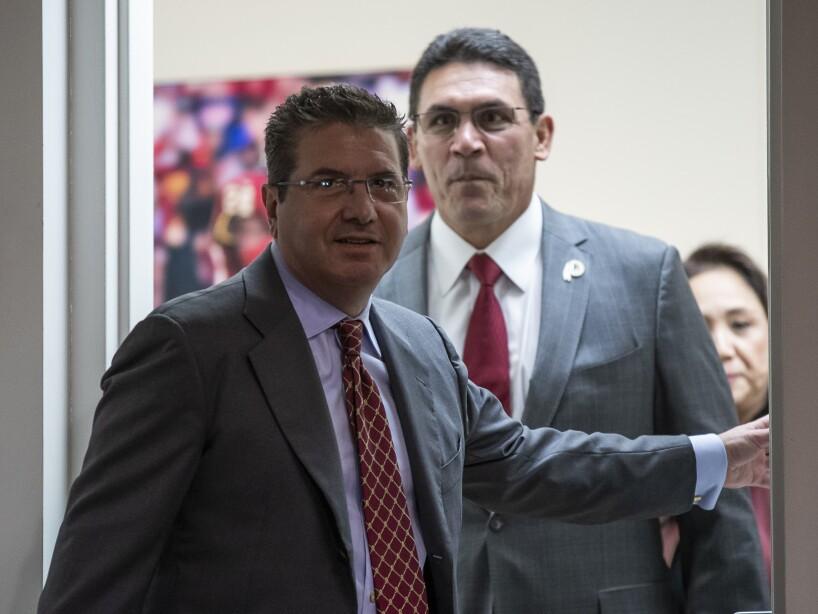 Ron Rivera, Dan Snyder