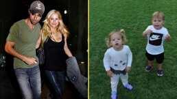 Un nuevo integrante llegó a la familia de Enrique Iglesias y Anna Kournikova