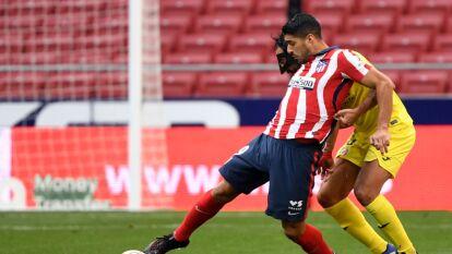 Atlético de Madrid empató sin goles ante el Villarreal   Luis Suárez jugó 70' y Héctor Herrera entró a la cancha al 75'; sólo han conseguido cinco unidades de 15 posibles.