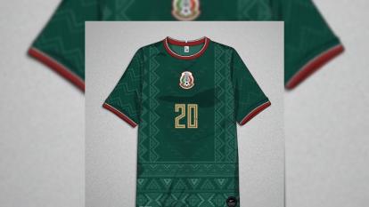 Marcus Led, diseñador sueco, se inspira en calendario azteca y le da vida a la playera de la Selección de México con un estilo innovador ¿Te gustaría ver al Tri así?