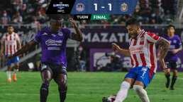 Mazatlán y Chivas se repartieron los puntos con empate 1-1