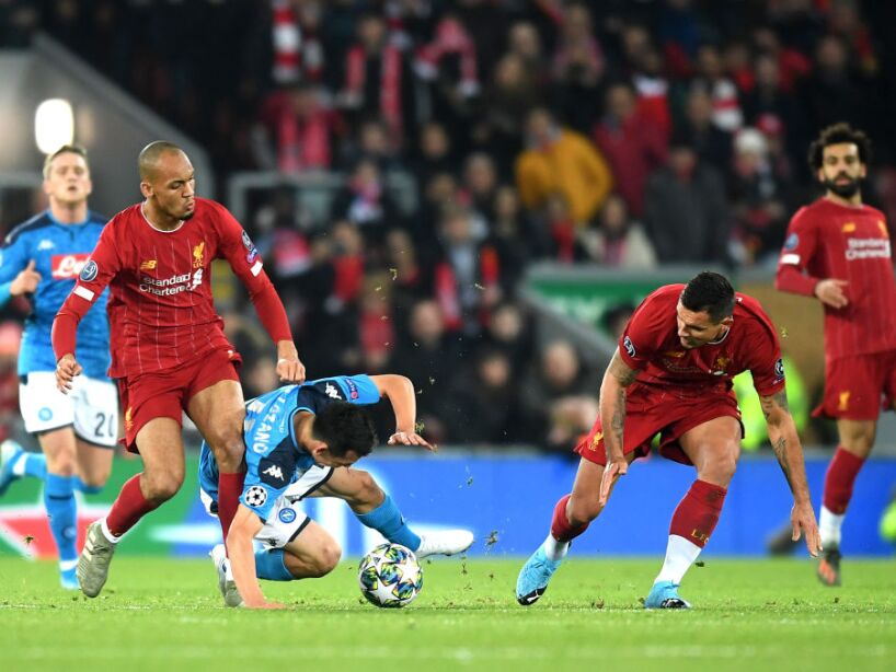 Liverpool FC v SSC Napoli: Group E - UEFA Champions League