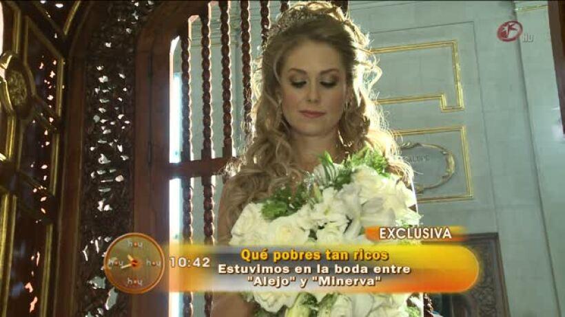 La boda de Alejo y Minerva en Qué pobres tan ticos