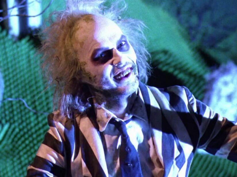 6. Beetlejuice: Michael Keaton provoca risas y sustos como un fantasma alburero en esta película de Tim Burton (1988).