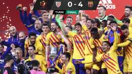 Messi anotó dos y el Barcelona ganó la Copa del Rey