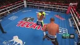 Round 10: Canelo despierta y contragolpea a Kovalev