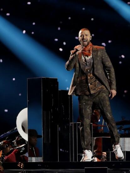 Con un espectáculo muy familiar, Justin TImberlake se presentó en el U.S. Bank Stadium de Minneapolis