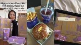 El Army de BTS presume el unboxing del menú de McDonald's de la banda