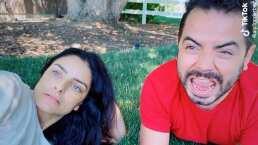 Aislinn y José Eduardo Derbez protagonizan cómico lip sync en TikTok