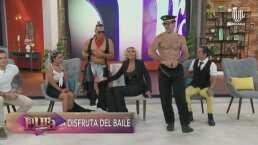 Laura sin censura: Show de strippers sorprende a Laura Bozzo