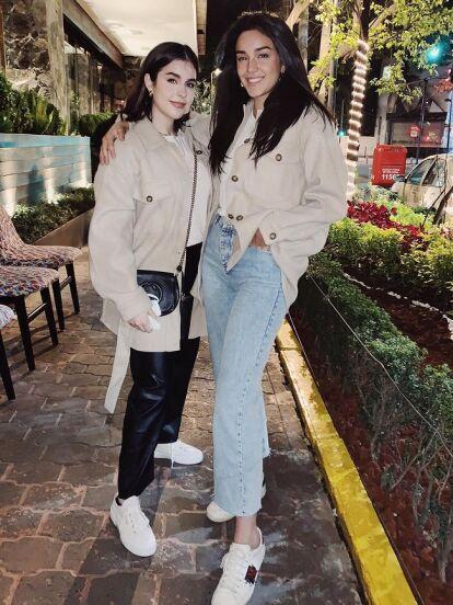 Acostumbrados a ver a Ana Paula y Alejandra, hijas de Biby Gaytán y Eduardo Capetillo, con sus características melenas oscuras, la mayor de ellas sorprendió a sus seguidores al presumir radical cambio de look.