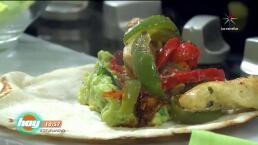 Cocina: Fajitas de pollo con guacamole