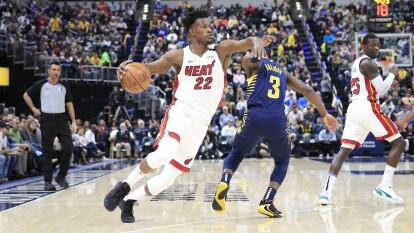 Todos los resultados de la NBA del 8 de enero. Indiana Pacers 108-122 Miami Heat