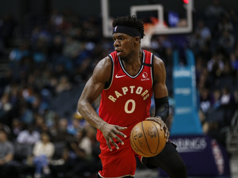 Raptors Hornets Basketball