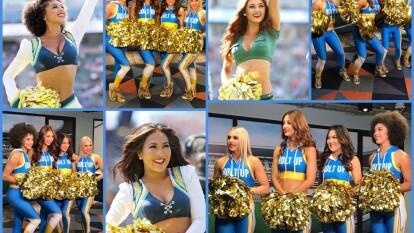 Esta mañana TUDN recibió una visita especial tras contar con la presencia de las Cheerleaders de Los Angeles Chargers.