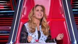 Lucero canta en portugués durante las audiciones de La Voz Kids