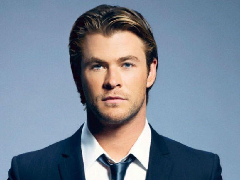 4. Chris Hemsworth: El famoso Thor tiene la estatura de un Dios: 1.92 centímetros de pura galanura.