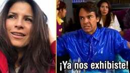 ¡Ya nos exhibiste!, Eugenio Derbez le hace una broma a Alessandra Rosaldo y termina balconeado
