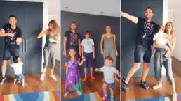 Rocco, hijo de Odalys Ramírez interrumpe de la manera más tierna el baile de sus papás