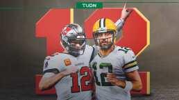 Los 12 datos de los '12': Número emblemático de Rodgers y Brady