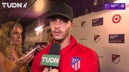 """Mario Hermoso: """"Nos estamos adaptando bien al equipo"""""""